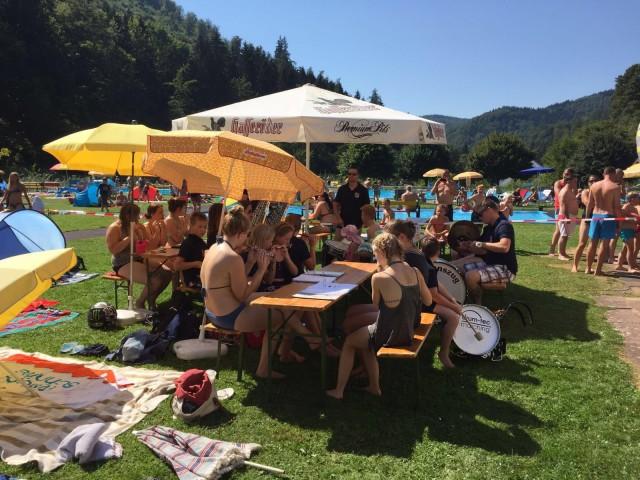 Beachparty im Waldschwimmbad Zorge 2016