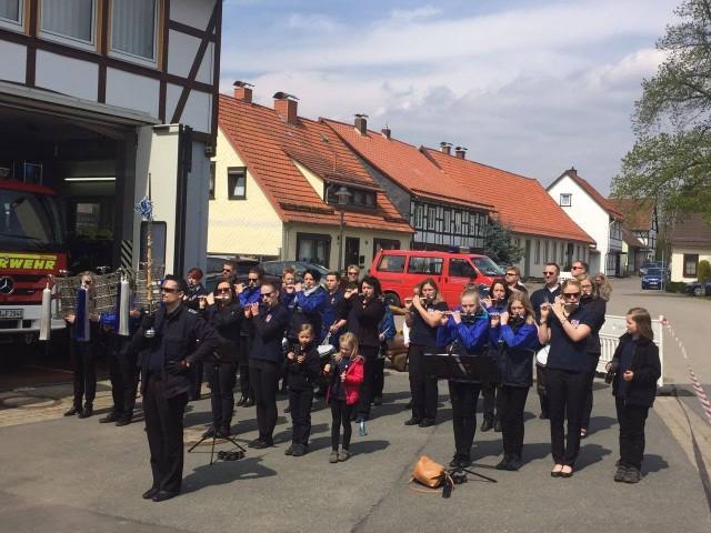 Maifrühshoppen bei der Freiwilligen Feuerwehr am 01.05.2017